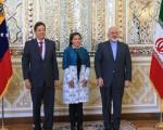 حجاب وزیر خارجه ونزوئلا در تهران/تصاویر