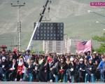 هشتم خرداد، دومین همایش پیاده روی منطقه آزاد ماکو/تصاویر