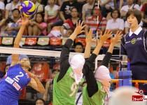 والیبال دختران زیر 23 سال ایران فیلیپین میزبان را شکست دادند
