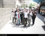 بدرقه «مهران دوستی» به خانه ابدی/تصاویر