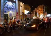 برخورد پلیس با «دوردور» شبانه خودروها