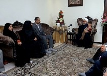 دیدار رییس جمهور با خانواده سه شهید و یک جانباز