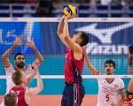 مسابقه والیبال ایران و آمریکا در لس آنجلس+گزارش تصویری