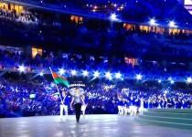 حضور وزیر ورزش در افتتاحیه بازیهای اروپایی باکو2015