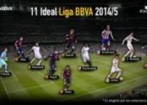تیم منتخب فصل 2014-2015 لالیگا اعلام شد