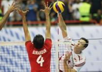 تیم ملی والیبال ایران در مقابل لهستان به برتری دست یافت