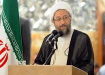 گفتگوی تلویزیونی آیتالله آملی لاریجانی در هفته قوه قضائیه