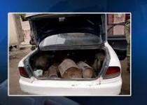 توقیف ۷ خودروی بمبگذاری شده در ورودی «کربلا»