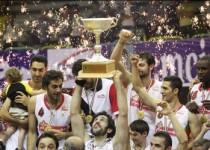 مهرام قهرمان لیگ حرفه ای بسکتبال ايران