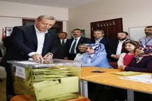 مشارکت 86درصدی مردم ترکیه در انتخابات