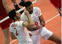 اولین پیروزی رسمی والیبال در مقابل قهرمان المپیک/روسیه1-3ایران