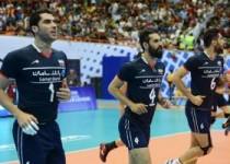 وضعیت تیم ملی والیبال در لیگ جهانی والیبال