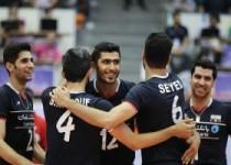 لیگجهانی والیبال/ایران با شکست لیگ را به پایان رساند