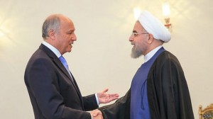 فابیوس: حامل پیام دعوت از رئیسجمهوری ایران برای سفر به کشورمان هستم