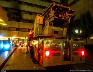 دومین آتشسوزی مهیب بندرعباس، اینبار هتل هرمز/تصاویر