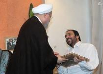 رییسجمهور با خانواده شهیدان قاسمی و جانباز حیدری دیدار و گفت و گو کرد