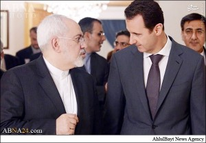 خوشآمدگویی بشار اسد به ظریف/عکس