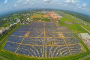 فرودگاه تمامآ خورشیدی در هند/عکس