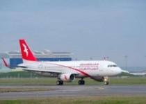 فروداضطراری هواپیمای العربیه در فرودگاه اصفهان