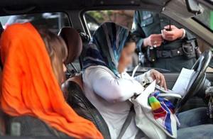 برگ جريمه ۱۰۰ هزار تومانی برای بدحجابی در خودروها!