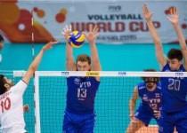جام جهانی والیبال ۲۰۱۵/ روسیه ۳ - ایران صفر / راه المپیک دور شد