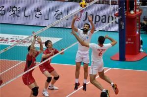 جام جهانی والیبال2015، ایران3-2ژاپن+تصاویر