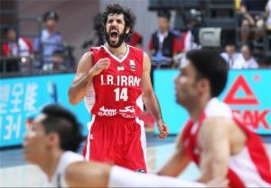مسابقات قهرمانی آسیا/تیم ملی بسکتبال ایران 94 فلسطین 48