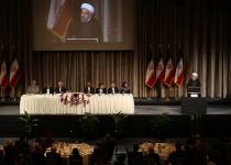 روحانی در جمع ایرانیان مقیم آمریکا: انسجام ملی رمز موفقیت ملت ایران است