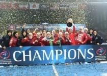 ایران قهرمان فوتسال زنان آسیا شد