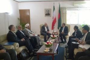 تاکید ظریف بر لزوم برگزاری کمیسیونمشترک میان ایران و بنگلادش