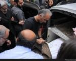 گزارش تصویری از مراسم تشییع جنازه علی طباطبایی