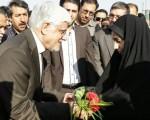 نامه دکتر محمدرضا عارف به فرزند یک شهید/تصویر