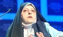 معصومه ابتکار: برای استقبال از روحانی چک پول توزیع نشد