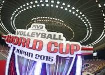 جام جهانی والیبال ۲۰۱۵/ دو برد و یک شکست برای تیم ملی والیبال ایران