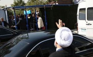 رئیس جمهور در افتتاح خط 3 مترو تهران/تصاویر