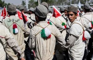 تصاویر مراسم رژه نیروهای مسلح در تهران