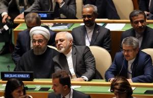 روحانی در مقر سازمان ملل/تصاویر