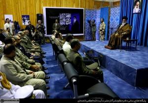 تصاویر دیدار رهبر انقلاب با فرماندهان ارتش در نوشهر