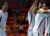 پیروزی تیمملیفوتسال ایران برابر روسیه