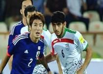 تساوی تیم ملی  فوتبال ایران مقابل ژاپن در مسابقه دوستانه
