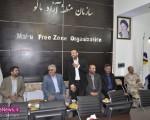 استقبال از حاج حسین فروزان، مدیر عامل سازمان منطقه آزاد ماکو/تصاویر