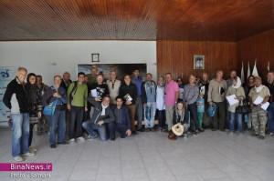 تور رالی گردشگری ترانس پاسارگاد از مرز بازرگان وارد کشور شدند/تصاویر