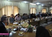 برگزاری جلسه هفته پارا المپیک در فرمانداری ماکو