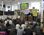 تجدید میثاق با شهدای امر به معروف و نهی از منکر در نماز جمعه ماکو/تصاویر
