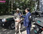 مصاحبه مطبوعاتی فرماندهی هنگ مرزی ماکو بمناسبت هفته نیروی انتظامی