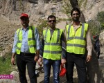 پاکسازی و جمعآوری زبالههای قلعه قابان ماکو /تصاویر