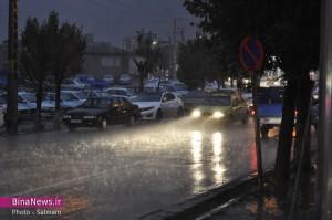 بارش تگرگ و باران شدید در ماکو/تصاویر
