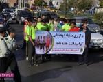 برگزاری مسابقه دو همگانی به مناسبت هفته ناجا در منطقه آزاد ماکو/تصاویر