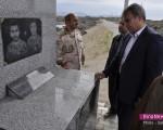 ادای احترام فرماندار ماکو نسبت به یادمان شهدای هنگ مرزی ماکو/تصاویر
