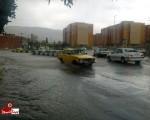 بارش اولین باران پائیزی در ماکو/تصاویر